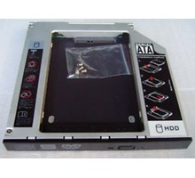 SATA HDD hard drive caddy voor laptop SATA bay, 12.7mm