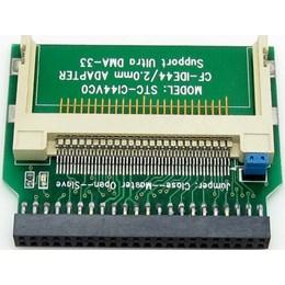 afbeelding van Compact Flash CF naar 44 Pin Female IDE Laptop Converter rechte aansluiting