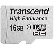 Transcend 16GB High Endurance MicroSDHC (Class 10) Video Record