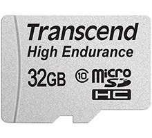Transcend 32GB High Endurance MicroSDHC (Class 10) Video Record