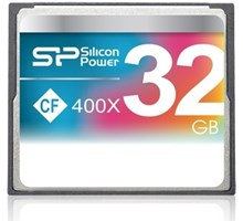 Silicon Power Hi-Speed Compact Flash Card 32GB
