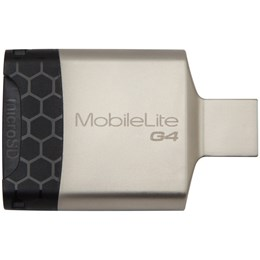 afbeelding van Kingston MobileLite G4 USB 3.0 Multi-card Reader