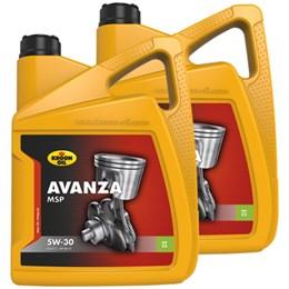 Tidsmæssigt Kroon Olie aanbieding: 2 x Avanza MSP 5W30 5L - Accudienst.nl AG-47