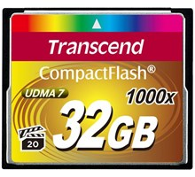 Transcend 32GB COMPACTFLASH CARD 1000x
