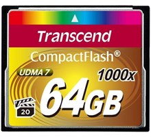 Transcend 64GB COMPACTFLASH CARD 1000x