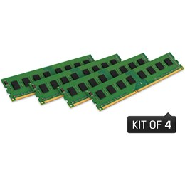 afbeelding van Kingston 32GB (Kit of 4x8GB) DDR3 DIMM  1333MHz CL9 STD Height 30mm