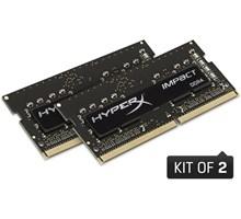 Kingston 32GB (Kit of 2x16GB) DDR4 SODIMM 2666MHz CL15 HyperX Impact