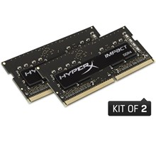 Kingston 16GB (Kit of 2x8GB) DDR4 SODIMM 2666MHz CL15 HyperX Impact
