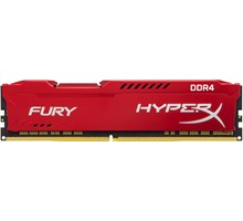 Kingston 8GB DDR4 DIMM 2133MHz CL14 1Rx8 HyperX FURY Red