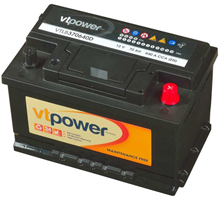 VT Power 12V 70Ah Accu