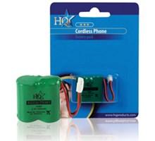 Draadloze telefoon batterij 2.4V