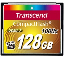 Transcend 128GB COMPACTFLASH CARD 1000x