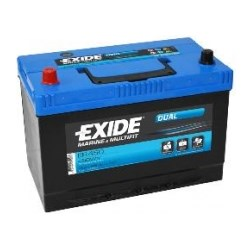 Exide Dual accu 12V 80Ah(20h) 260x175x205x225