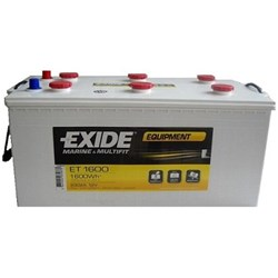 Exide Equipment accu 12V 230Ah(20h) 513x264x223x243