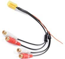 ISO 6pin RCA 4 Plugs