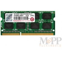 Transcend 4GB DDR3 1600 SODIMM (2R/256Mx8/CL11)
