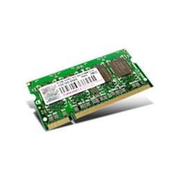 afbeelding van Transcend 1GB Laptop geheugen 200P DDR2 SODIMM(128Mx64 128M x 8/DDR2 667/5-5-