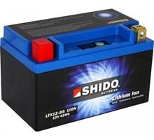 Shido Lithium LTX12-BS / YTX12-BS