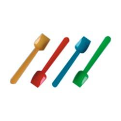 Ijslepeltjes diverse kleuren 93 mm, pak met 1000 stuks
