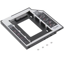 Universele SATA HDD hard drive caddy voor laptop SATA bay, 9.5mm