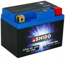 Shido Lithium LTX4L-BS / YTX4L-BS