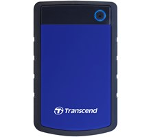 "Transcend 2TB STOREJET 25H3 USB3.0 Internal 2.5"" SATA HDD Anti-shock (Blue)"