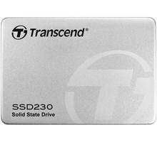 Transcend 128GB, 2.5 SSD230S, SATA3, 3D TLC, Aluminum case