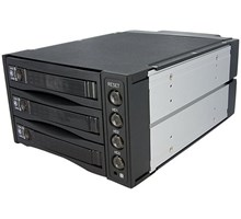 "StarTech Wisselbare 3-Bay 3,5"" SAS/SATA"
