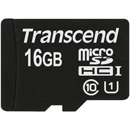 afbeelding van Transcend 16GB MicroSDHC Class10 UHS-I (Premium) - Geen adapter