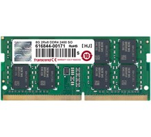 Transcend 8GB DDR4 SO-DIMM 2400Mhz CL17 2Rx8