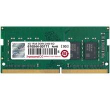 Transcend 4GB DDR4 SO-DIMM 2400Mhz CL17 1Rx8
