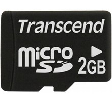 Transcend 2GB MicroSD - Geen adapter