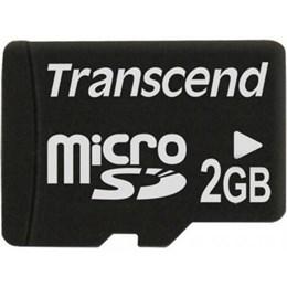 afbeelding van Transcend 2GB MicroSD - Geen adapter