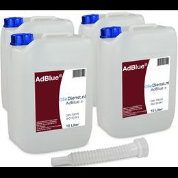 afbeelding van AdBlue 10 Liter x 4