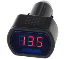 Digitale Auto Spanningsmeter (Voltmeter) 12V/24V