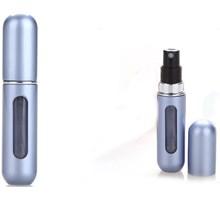 Draagbare navulbare parfumspray 5ml blauw metaal