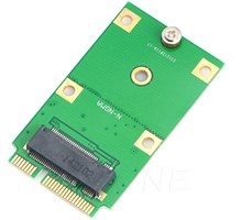 M.2 NGFF SSD naar Mini PCI-E mSATA Converter Adapter Card