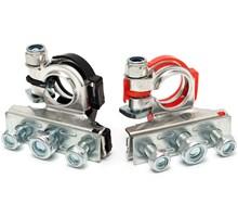 Accupolen adapters van DIN naar 3x schroefpolen (Marine aansluiting)