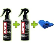 Motul Helmet Deal: M1 Helmet/Visor + M2 Interior Clean + Poetsdoek