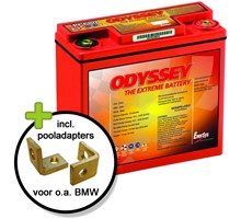ODYSSEY PC680 ACCU met BMW adapters