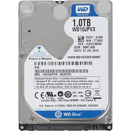 afbeelding van WD Blue Mobile 1TB 2.5 inch HDD SATA3 5400rpm 8MB