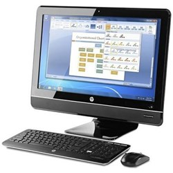 HP-COMPAQ Elite 8200 All-in-One Desktop