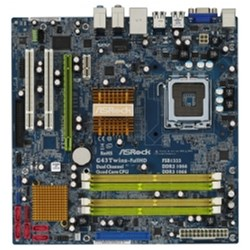 ASROCK To Be Filled By O.E.M. / G43Twins-FullHD geheugen van